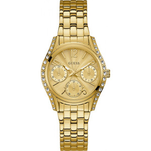 Guess Prima Ladies Watch with Gold Dial W1020L2