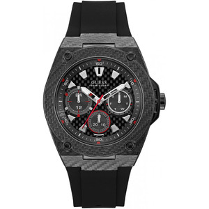 Guess Legacy Men's Watch with Black Dial W1048G2