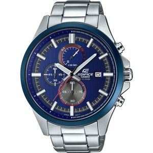 Edifice Men's Racing Blue Chronograph Date Display Watch EFV-520RR-2AVUEF