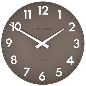 Thomas kent Camden Milk Chocolate Small Wall clock