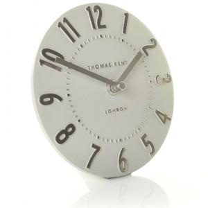 Thomas Kent Mulberry Mantel Silver Colour Cloud Clock CK6203 (15 CM)