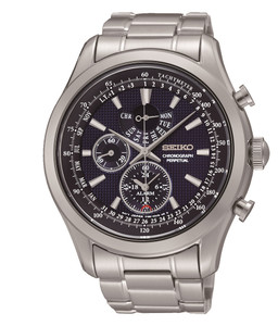 Seiko Men's Perpetual Calendar and Chronograph Watch SPC125P1