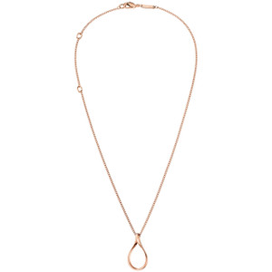 Calvin Klein Necklace with Pendant Light in Rose Gold KJ5CPN1001