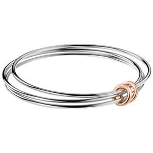 Calvin Klein Bracelet Nimble in Silver/Rose Gold KJ5HMD2001