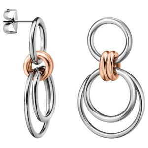 Calvin Klein Earrings Nimble in Silver/Rose Gold KJ5HME2001