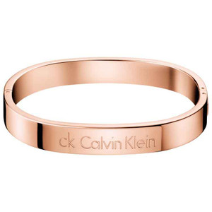 Calvin Klein Closed Bangle Hook in Rose Gold KJ06PD1002