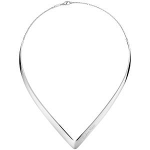 Calvin Klein Choker Outline in Silver KJ6VMJ0001