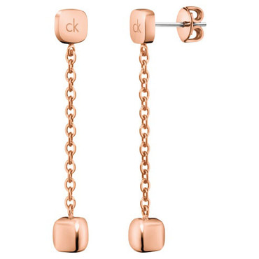 Calvin Klein Earrings Side In Rose Gold Kj5qpe1001