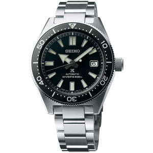 Seiko Diver's Recreation Men's Automatic Watch with Black Dial SPB051J1