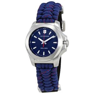 Victorinox Swiss Army I.N.O.X V Blue Dial Blue Paracord Bracelet Watch 241770