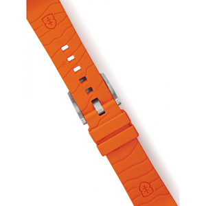 Elliot Brown Replacement Orange Rubber Strap For 22mm Watches STR-R05