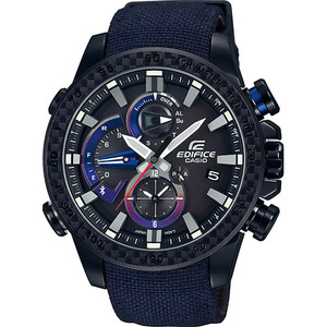 Casio Edifice Limited Edition Toro Rosso Bluetooth Chronograph Tough Solar Watch EQB-800TR-1AER