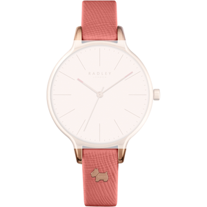 Radley Replacement Pink Leather Watch Strap 12mm For RY2388 With Free Pins