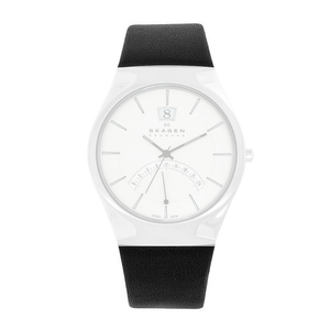 Skagen Replacement 25mm Leather Strap For 668XLSLZM With Free Screws