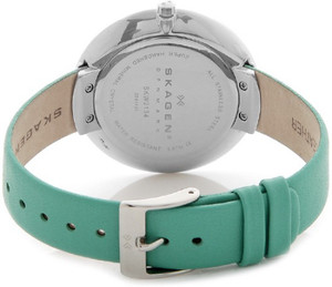 Skagen Replacement Turquoise Leather Strap 14mm For SKW2134 With Free Screws