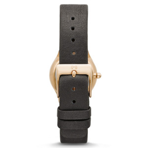 Skagen Watch Replacement Strap For SKW2208 Grey Leather With Free Screws