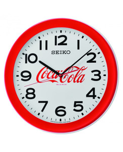 Seiko Coca-Cola Wall Clock - Red QXA922R