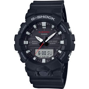 G-Shock Black Analogue Digital World Time and Chronograph Watch GA-800-1AER