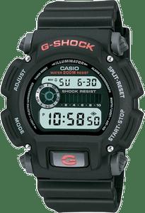 Casio G-Shock Digital Black Resin Chronograph Watch DW-9052-1VER