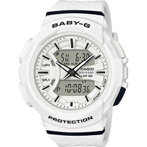 Baby-G White Digital Analogue Dial Chronograph Watch BGA-240-7AER
