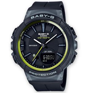 Baby-G Black Step Tracker Digital Analogue Watch BGS-100-1AER