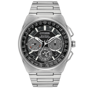 Citizen Eco-Drive Mens Satellite Wave-World Time GPS Date Display Watch CC9008-50E