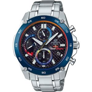 Edifice Men's Limited Edition Toro Rosso Carbon Fibre Dial Chronograph Watch EFR-557TR-1AER