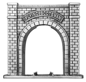 Woodford Pewter Flying Scotsman Tunnel Display Stand HT107