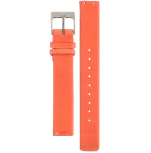 Skagen Replacement Orange Leather Strap 14mm For SKW2137