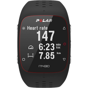 Polar M430 GPS Running Watch Black 90066337