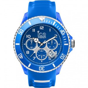 Ice-Watch Men's Ice-Sporty Blue Dial Silicone Strap Watch SR.CH.BWE.BB.S