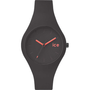 Ice-Watch Ladies Ice-Forest Black Dial Rubber Strap Watch ICE.FT.DTA.S.S