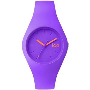 Ice-Watch Ladies Ice-Chamallow Purple Dial Silicone Strap Watch ICE.CW.PE.U.S