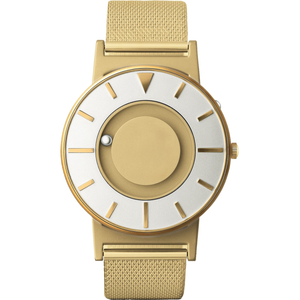 Eone Bradley Braille Tactile Watch For Blind Gold Mesh BR-GLD
