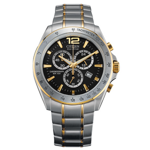 Citizen Eco-Drive Men's Two-Toned Sport Chronograph Watch AT2074-58E