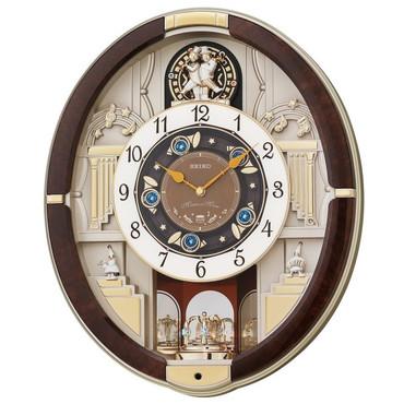 Seiko Magic Motion Melody Marionette Clock QXM289B