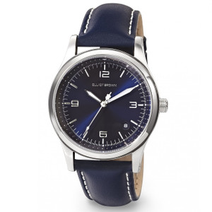 Elliot Brown Kimmeridge Ladies Extreme Sports Midnight Blue Leather Watch 405-003-L52