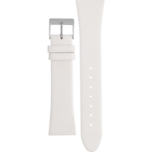 Skagen Replacement White Leather Strap 22mm For 649SSLWW With Free Screws