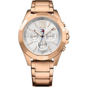 Tommy Hilfiger Ladies Chelsea Rose Gold Plated Stainless-Steel Bracelet Watch 1781847