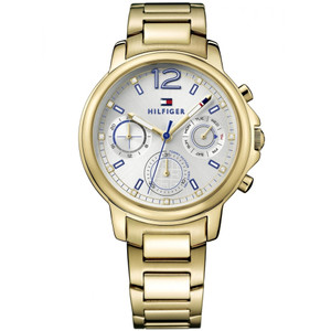 Tommy Hilfiger Ladies Claudia PVD Gold Plated Stainless-Steel Bracelet Watch 1781742