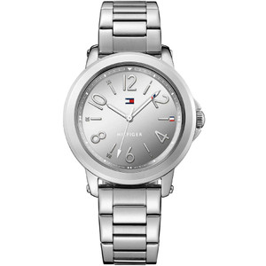 Tommy Hilfiger Ladies Ellie Silver Dial Bracelet Watch 1781750