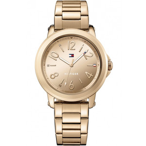 Tommy Hilfiger Ladies Ellie Rose Gold Dial Stainless-Steel Bracelet Watch 1781752