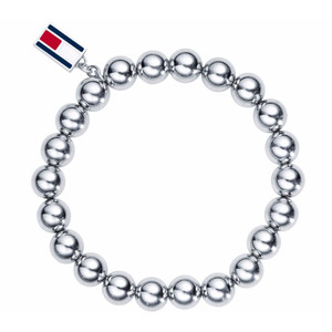 Tommy Hilfiger Casual Core Silver Beaded Bracelet 2700501