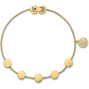 Tommy Hilfiger Fine Core Gold Ion Plated Multi Coin Bracelet 2700980