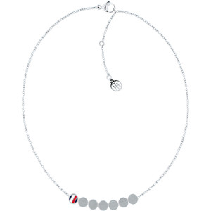 Tommy Hilfiger Fine Core Stainless-Steel Multi Coin Necklace 2700982