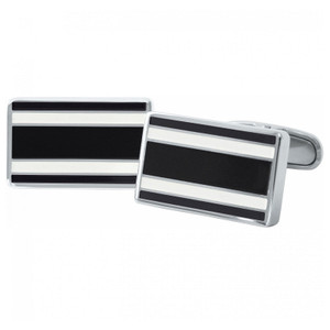 Tommy Hilfiger Cool Core Men's Stainless-Steel Flag Cufflinks 2700669
