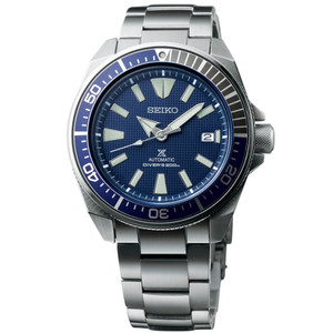 Seiko Prospex Blue Samurai Automatic Divers Men's Watch SRPB49K1