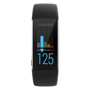 Polar A370 Black Bluetooth Fitness Tracker (Medium) 90064882