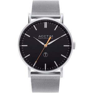 Acctim Sterling Men's Radio Controlled Stainless-Steel Milanese Mesh Bracelet Watch 60426