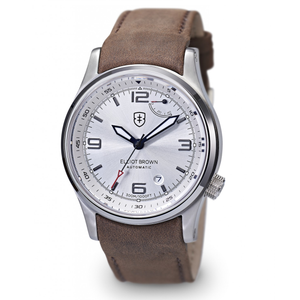 Elliot Brown Tyneham Automatic Mens Silver Dial Watch 305-003-L12